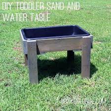 diy sand table a in toddler water table diy kinetic sand table