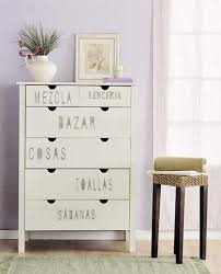 stenciling furniture ideas. wood furniture decorated with letter stencils stenciling ideas u