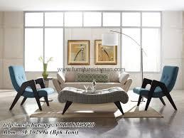 modern retro furniture. Kursi Tamu Minimalis Modern Retro KTM-163 Furniture N