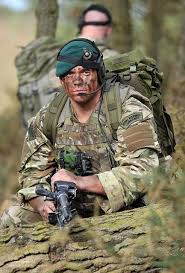 royal marine mandos on exercise in british woodland by defence images via flickr