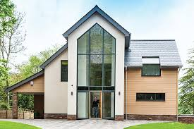 Modern Eco House Designs Uk   Homemini s comA Contemporary Four Bedroom Eco Home Built With Structural Insulated Panels  Mini st Modern Eco Home Plans