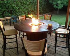 wood burning fire pit table - Google Search