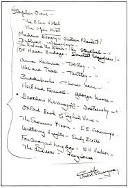 ernest hemingway creates a reading list for a young writer  hemingway reading list