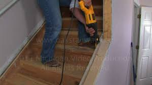 Removing Stair Carpet How To Remove Nosing From Stairs To Install Oak Wood Stair Treads