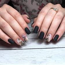 Black Nail Designs 2018 50 Dramatic Black Acrylic Nail Designs To Keep Your Style On