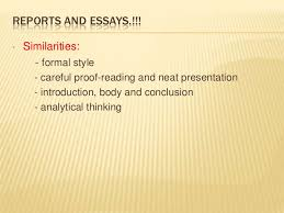 differences and similarities essay