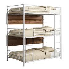 <b>Трехъярусная кровать Эверест</b> с полками