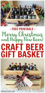 craft beer gift baskets for men