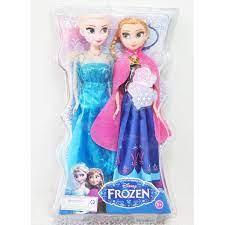 GIÁ SỐC Đồ chơi hộp 2 búp bê ELsa và Anna đẹp có khớp cho bé gái