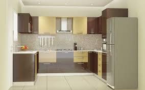 Modern Kitchen Colour Schemes Kitchen Designs U Shape Laminate High Gloss Dark Citrus N Sapelle