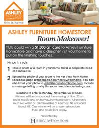 Ashley Furniture HomeStore $1 000 Room Makeover – Her View From Home