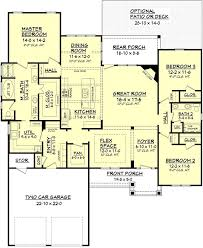 ranch house floor plans with 2 master suites awesome e story house plans with two master