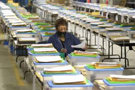 Inside the Milwaukee Election Commission warehouse