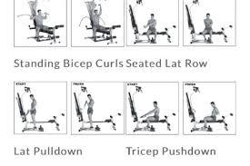 Bowflex Pr1000 Workout Chart Bowflex Pr1000 Workout Routine Anotherhackedlife Com