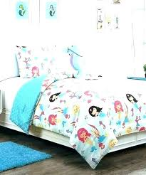 little mermaid bedding twin set comforter trendy
