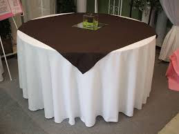 using square tablecloths on round tables photos table and pillow