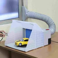 paint booth ventilation wall covering box how to build a rhryandonatocom temp plastic sheeting auto garage