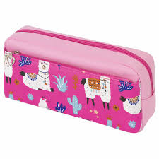 <b>Пенал</b>-косметичка <b>ЮНЛАНДИЯ</b> 228980 Ламы розовый — купить ...