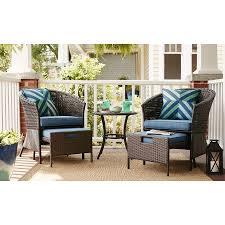 preferred steel patio conversation sets with regard to garden treasures sandyfield 5 piece steel patio