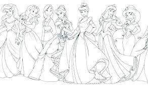Disney Princess Coloring Page Cute Baby Princess Ring Pages