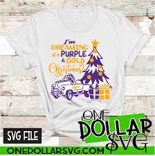 Seuss svg drinks and foods svg easter svg. Lsu Pedal Car Dreaming Of A Purple Gold Christmas Svg Design One Dollar Svg