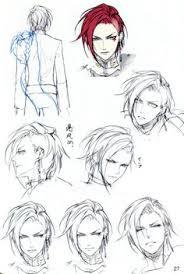 reine des fleurs anime hair drawinghair