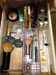 conner pouch by nanshy organized makeup drawer