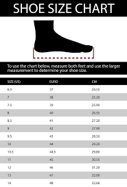 Racing Shoe Size Chart K1 Racegear Shoe Size Chart Track Monkey Apparel