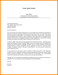 How To Write A Cover Letter For Law Enforcement Fishingstudio Com