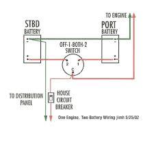 perko dual battery switch wiring diagram throughout marine perko dual battery switch at Two Battery Switch Wiring Diagram