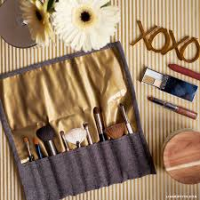 make up brush case