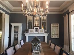 dining room modern farmhouse chandelier with rectangular