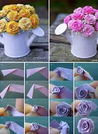 Paper Flower Pots Pretty Diy Paper Flower Pot By Katherine Maiolo Musely