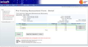 pre training assessment form employee also input remarks by clicking on the show button under remarks refer to figure above a pop up window will be shown after clicking on the