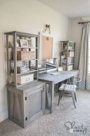 office room ideas. DIY Bookcase. Home Office DesksOffice SpacesOffice Room IdeasHone Ideas