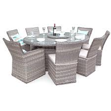 garden table and chair covers round medium size of winsome large round rattan garden table and