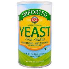 KAL, <b>Imported</b>, <b>пищевые дрожжи</b>, <b>мелкие</b> хлопья, 7.8 унции(220 г ...