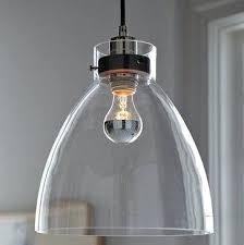 west elm lighting. Contemporary Pendant Lighting Industrial Glass West Elm Light Hanging Over Dining