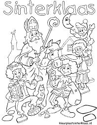 Welkom Sinterklaas Kleurplaat Krijg Duizenden Kleurenfotos Van De