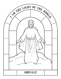 The illustration shows jesus welcoming children, as he often did in. Jesus And Children Coloring Pages Coloring Home