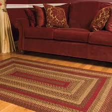 best choice of country braided rugs ihf area cinnamon star jute primitive oval