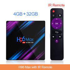 Purple Rain Design Smart Android TV Box