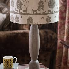 woodland table lamp country style