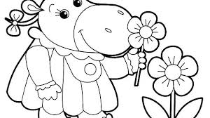 Coloring Page For Kids Kids Playing Volleyball Coloring Page