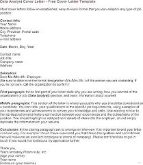 Data Analyst Cover Letter Examples Business Analyst Resume Examples ...