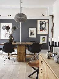 rustic dining room art. Home Design And Decor , Rustic Modern Interiors For The Homes : Dining Room Art