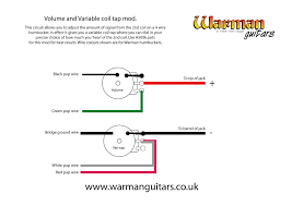 dual rail pickup wiring diagrams wiring diagram for you • variable coil tap using a pot warman guitars single coil pickup wiring diagram artec hot rail pickup wiring diagram