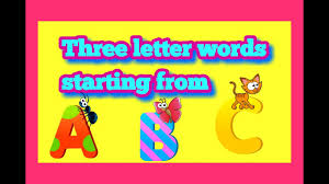 three letter words starting from n o p