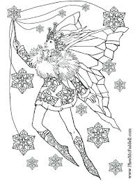 Fairy Coloring Pages For Free Winter Fairy Coloring Pages Free Fairy