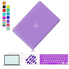 Light Purple Macbook Air Case Ultra Slim Light Weight Rubberized Hard Case For Macbook Pro